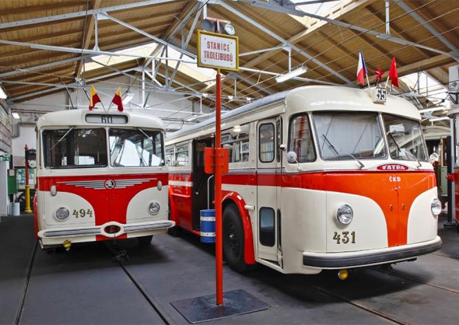 Музей общественного транспорта Праги