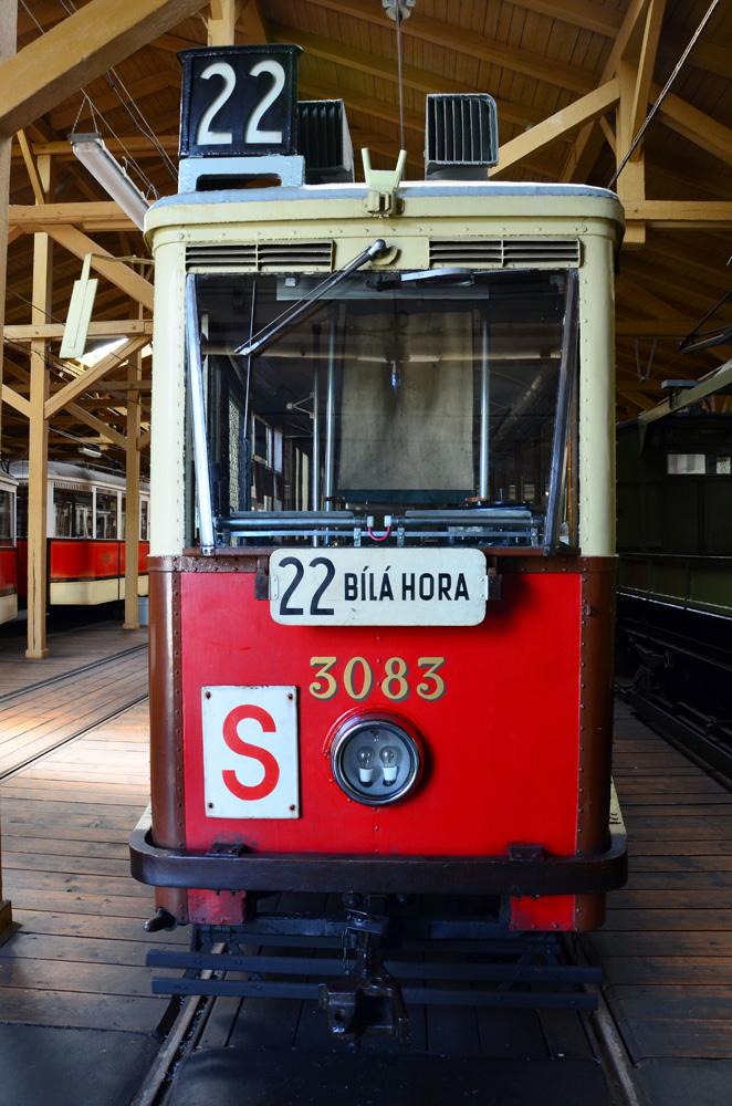 Один из старейших пражских трамвайных маршрутов.