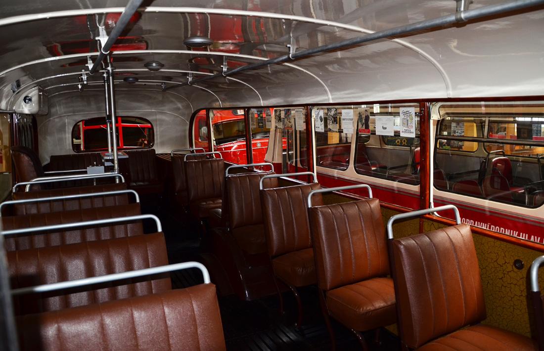 Салон автобуса Škoda 706 RO
