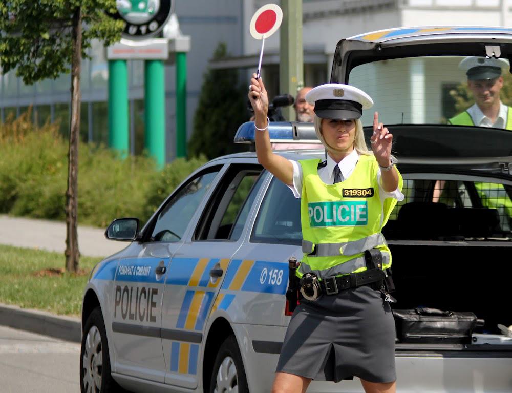 Чешская дорожная полиция (1)