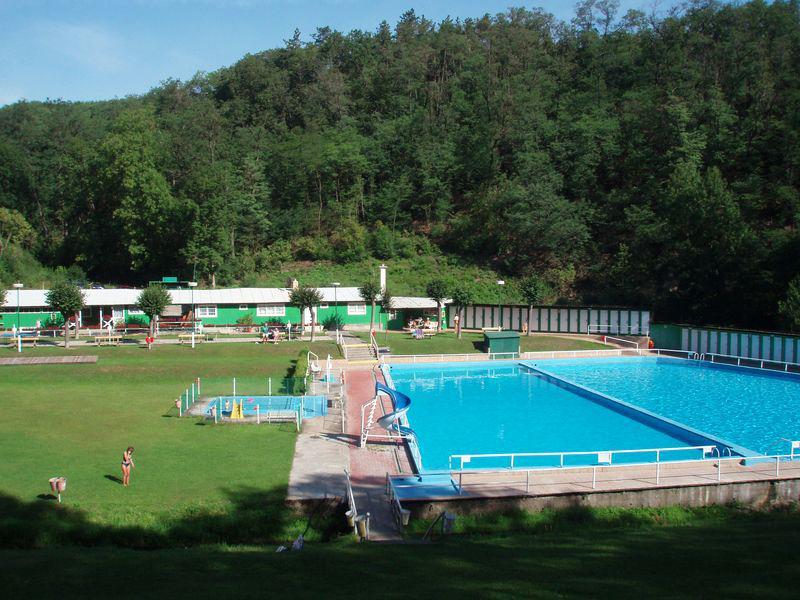 Открытый бассейн в Праге Divoká Šárka