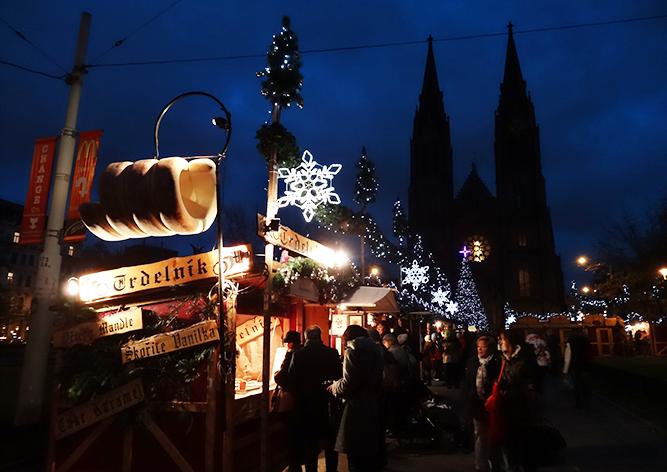 Рождественская ярмарка Прага