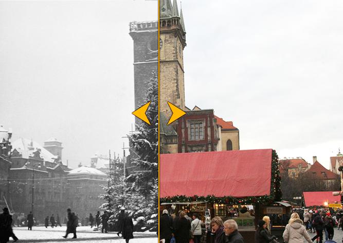 Фотопроект: рождественская Прага вчера и сегодня