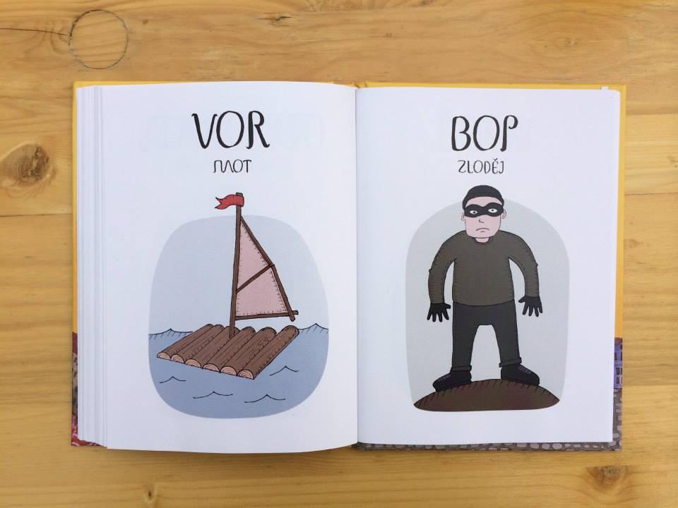 В Чехии вышел «Весёлый чешско-русский словарь» в картинках