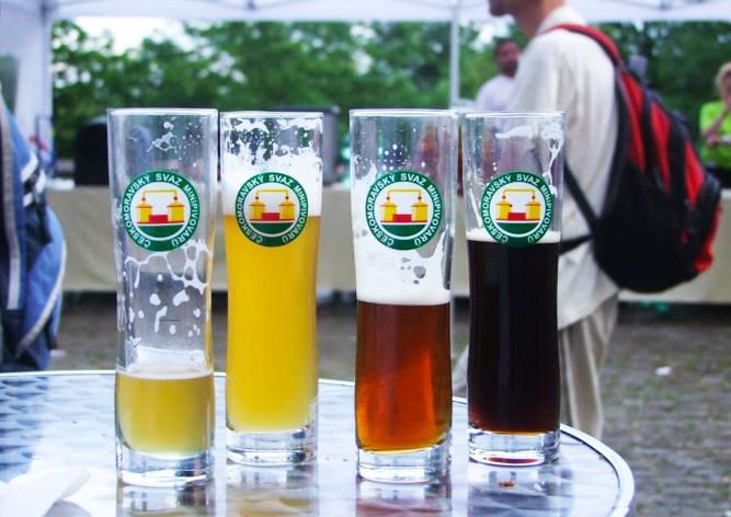 фестиваль мини-пивоварен Прага