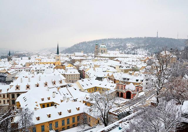 В Чехию идет похолодание до -14°C