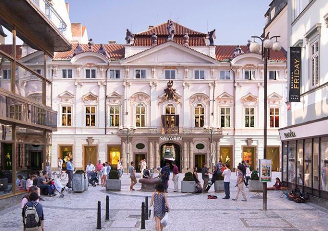 В центре Праги появится новый торгово-офисный комплекс