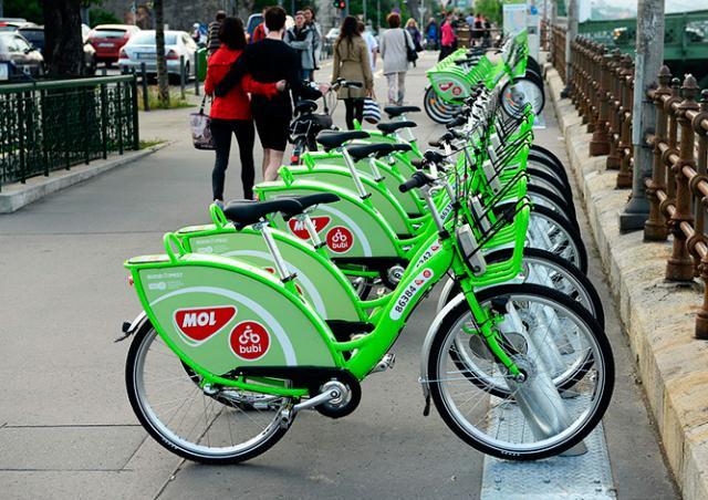 В Праге появится городская система проката велосипедов