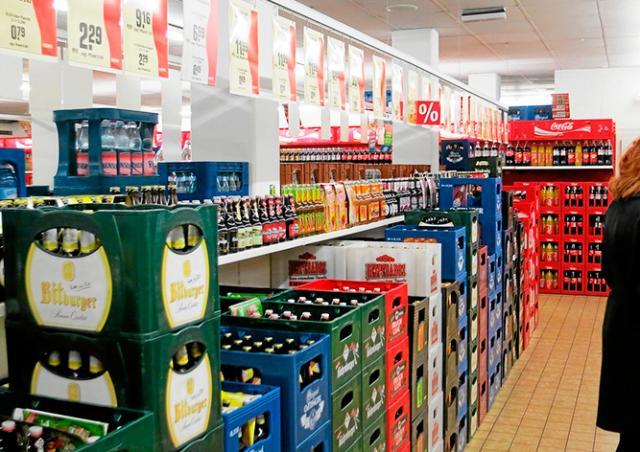 Кража века в Чехии: вор вылил в магазине три ящика пива и сдал бутылки