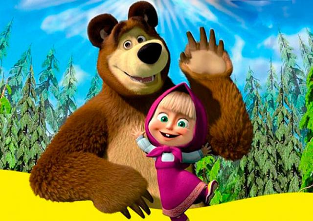 Серия «Маши и Медведя» набрала 4 млрд просмотров на YouTube