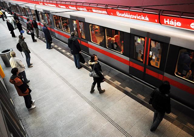 Мобильная связь на «красной» ветке пражского метро появится в 2017 году