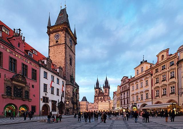 Иностранцы обокрали иностранцев в центре Праги