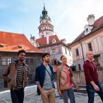 Туристы-в-Чехии