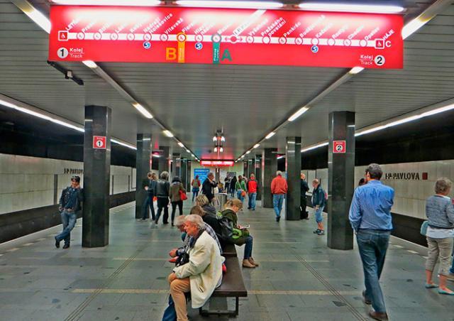 Станцию метро I.P. Pavlova эвакуировали из-за подозрительного предмета