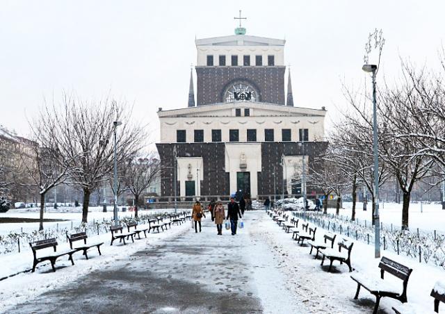 Чехия пережила самый холодный январь за последние 77 лет