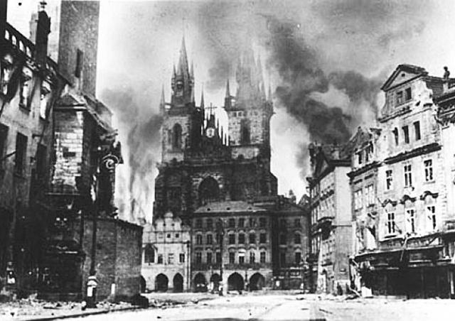 Ровно 74 года назад началось Пражское восстание