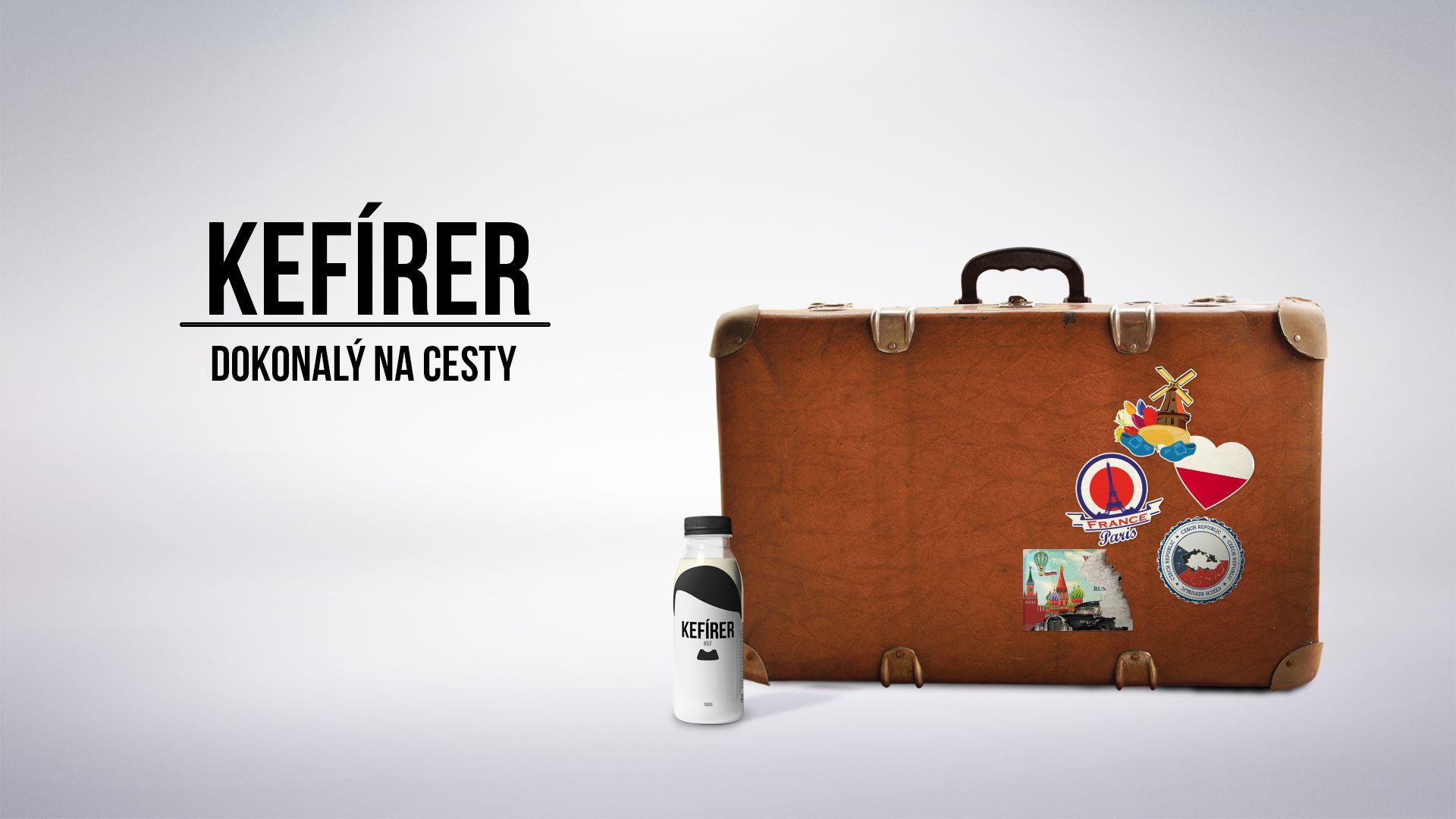 """""""Kefírer - создан для путешествий"""". Наклейки на чемодане напоминают о странах, где побывали нацистские оккупанты"""