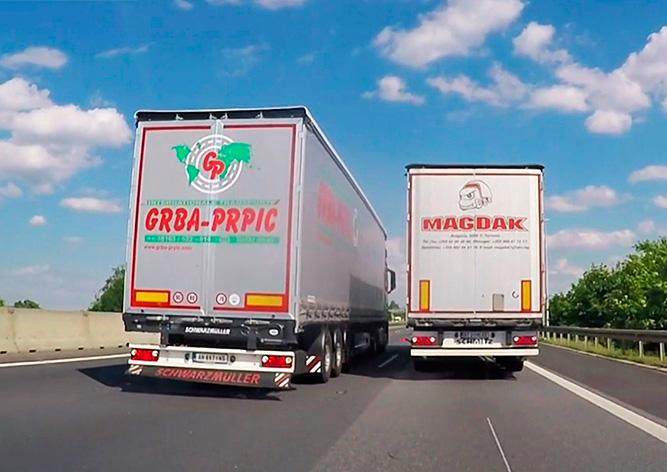 В Чехии предложили запретить фурам обгон на автомагистралях