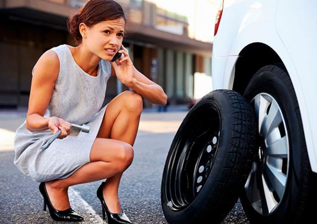 Чех нашел незаконный способ подзаработать на спущенных шинах