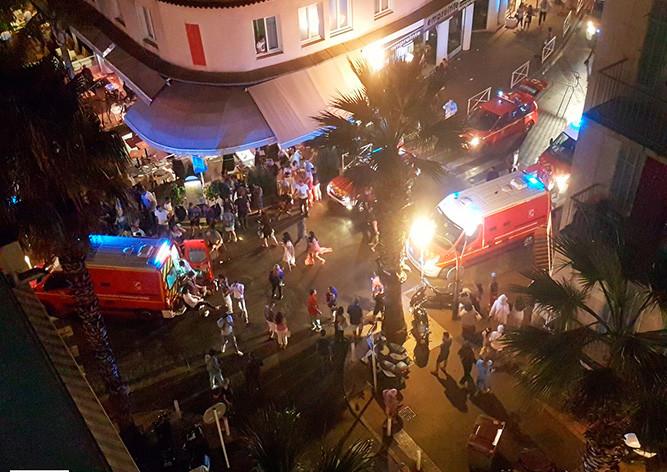 Вдавке вЖуан-ле-Пен пострадали около 40 человек