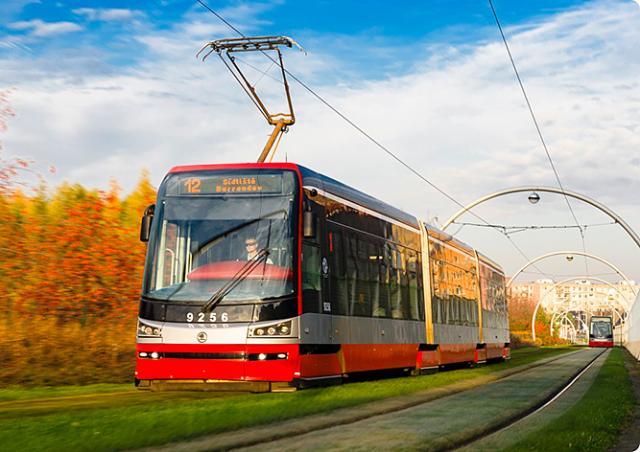 Трамваи в Праге вышли на новые маршруты