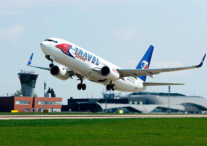 Летевший в Прагу пассажирский самолет экстренно сел во Франции