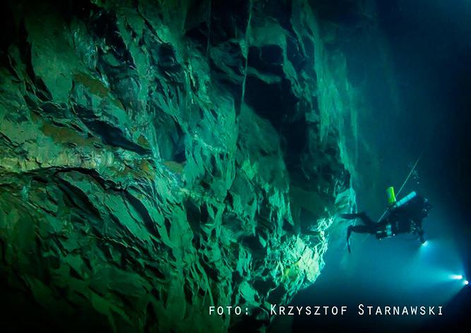 ВЧехии найдена глубочайшая подводная пещера вмире