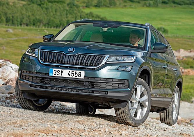 Škoda готовит рестайлинг 4-х моделей и «заряженную» версию Kodiaq