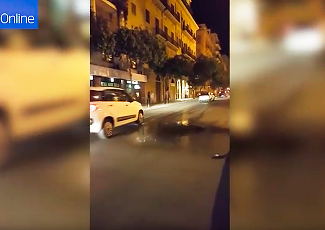 Природный феномен: в Италии прошел «ультралокальный» дождь