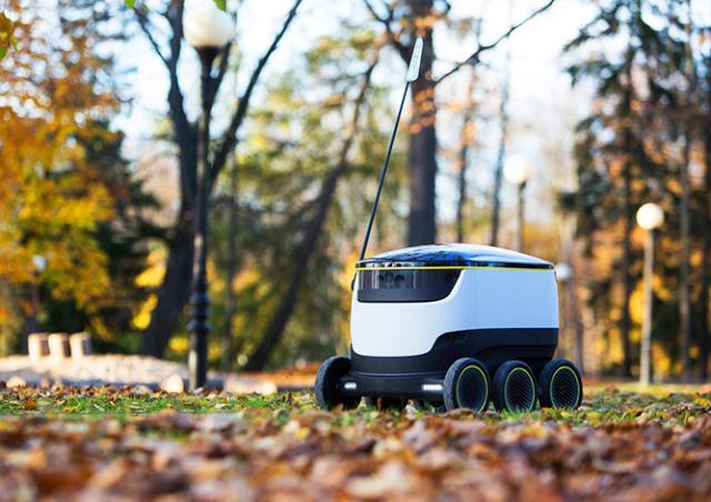В Праге продукты на дом начнут доставлять роботы-курьеры