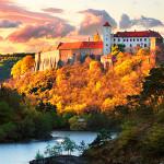 замок-крепость-град-осень