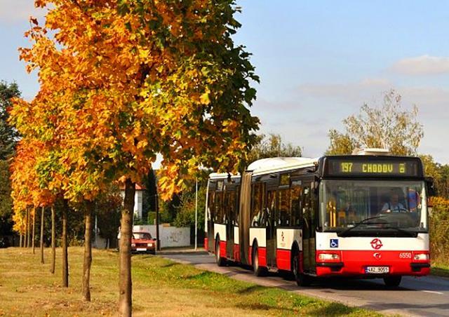 Автобусы в Праге вышли на новые маршруты