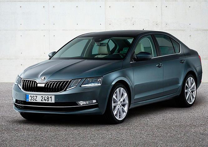 Škoda представила обновленную Octavia