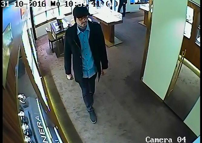 Ограбление пражского магазина элитных часов попало на видео