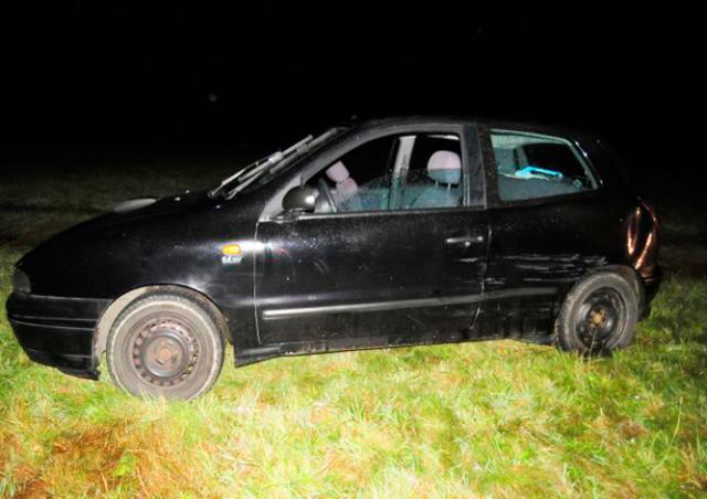 В Чехии пьяный водитель без прав скрылся с места ДТП на машине без техпаспорта
