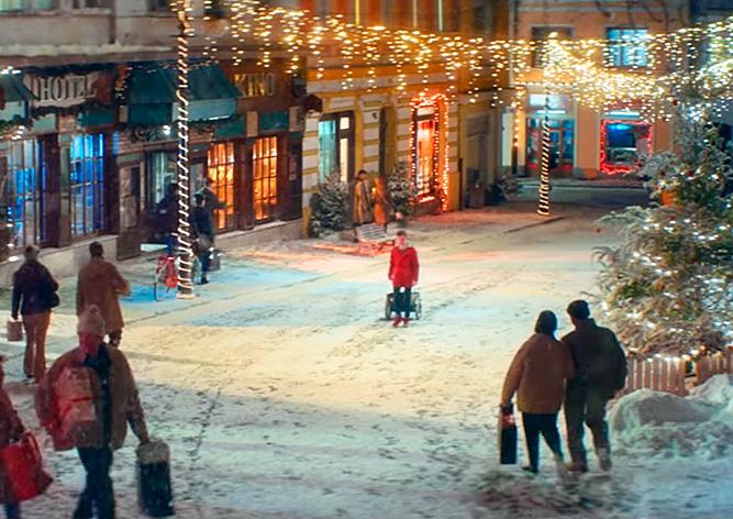 Apple и Coca-Cola сняли в Чехии рождественскую рекламу