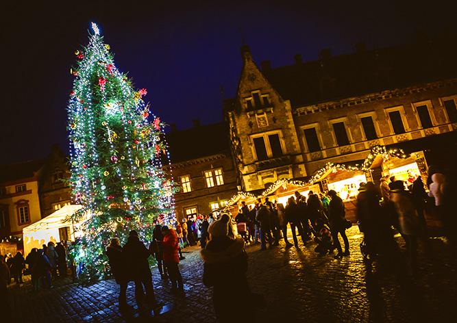 Рождественскую ёлку на Пражском Граде торжественно зажгут 27 ноября