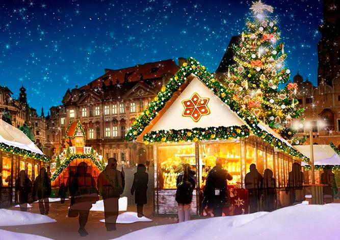 В центре Праги появится рождественская «пряничная деревня»