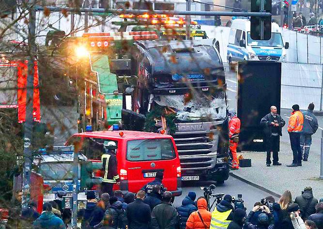 Милиция Берлина объявила врозыск террориста сярмарки