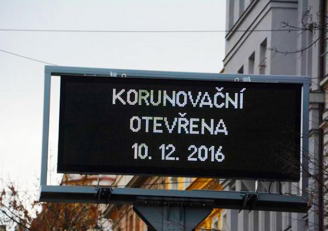 В субботу для автомобилей в Праге откроют улицу Korunovační