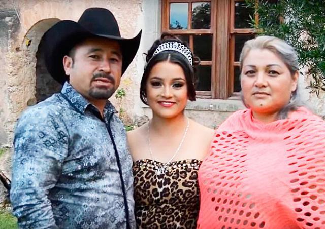На день рождения мексиканки приехали тысячи незнакомых людей