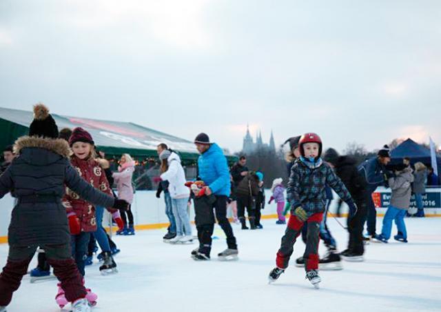Прага пригласила всех желающих встретить Новый год на льду
