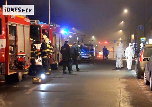 Взрыв петарды переполошил экстренные службы Праги