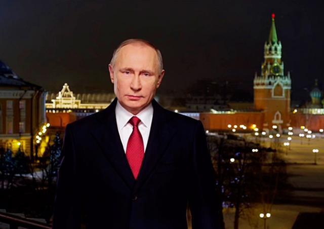 Видео: новогоднее обращение Владимира Путина