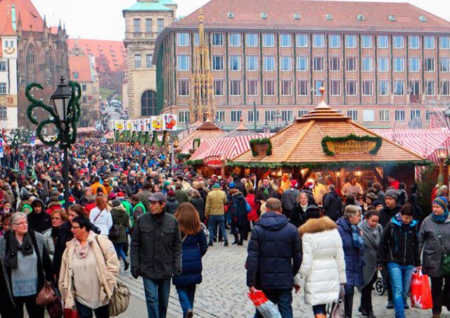 Школьник пытался взорвать бомбу на рождественской ярмарке в Германии