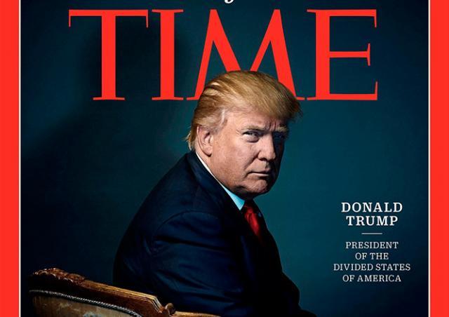 «Человеком года» по версии Time стал Дональд Трамп