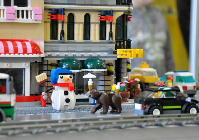В Праге открылась крупнейшая в Европе выставка моделей из LEGO