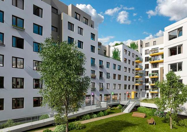 Объемы строительства квартир в Праге за год сократились на 72%