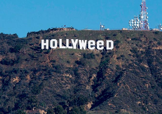 Изменивший надпись Hollywood «любитель марихуаны» сдался полиции