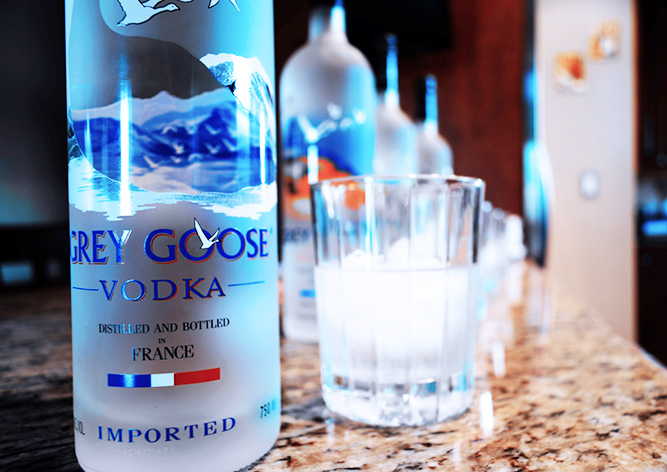 В Чехии бутылка водки не позволила вору вовремя скрыться из ресторана